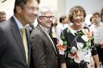 Burgemeester van Oss ontvangt prominenten